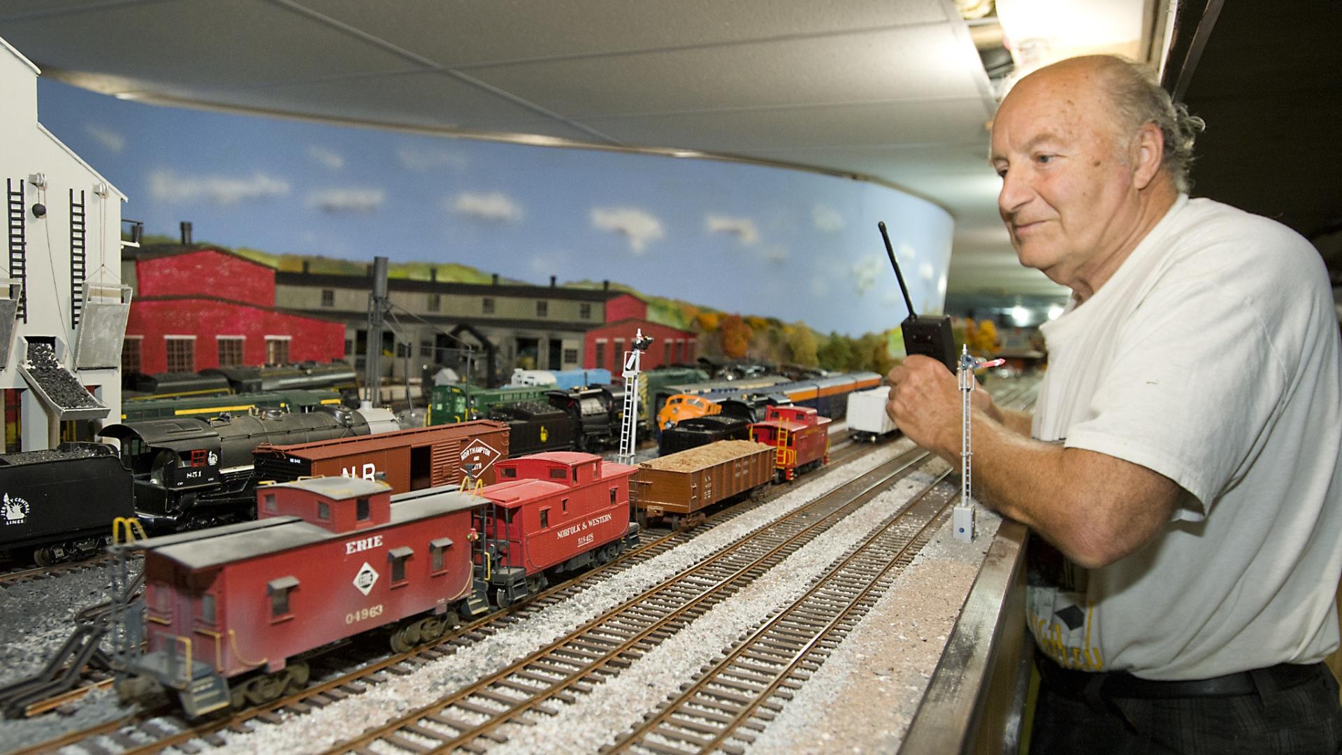 Model train enthusiast keeps Bethlehem Steel exhibit on