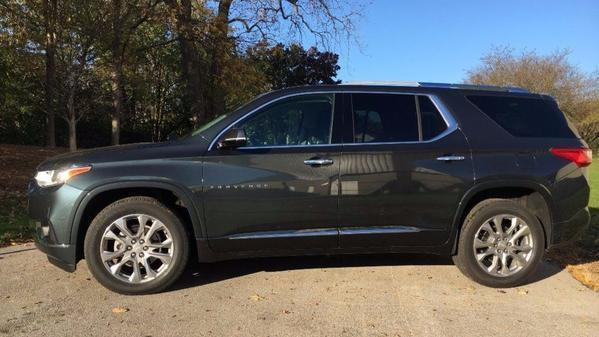 2018 Chevrolet Traverse offers up minivan function in SUV