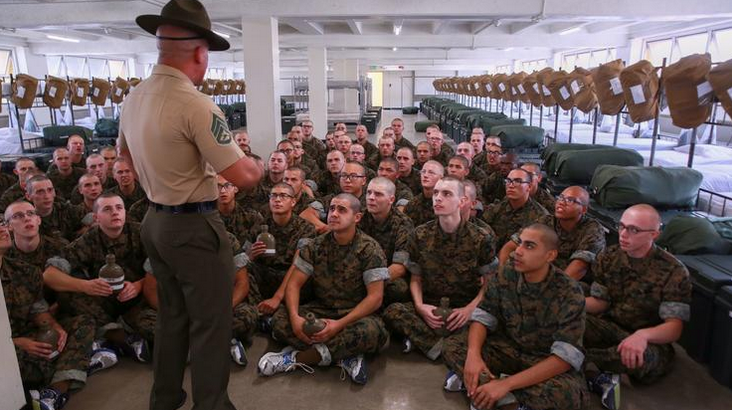Bacterial outbreak at Marine Corps boot camp abates in San Diego