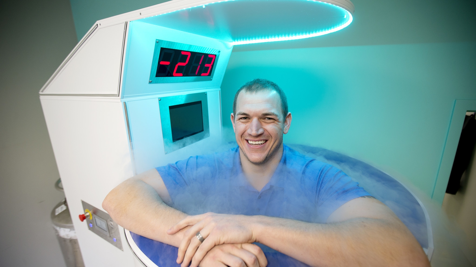 Howard athletes look to cryotherapy for sports injury