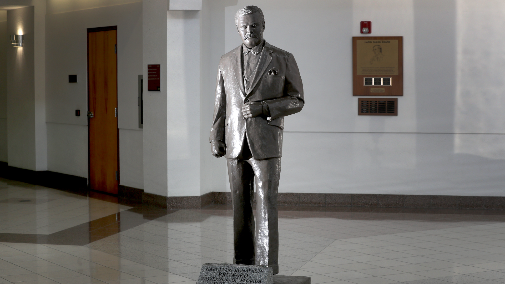 Racist' statue of Broward County's namesake to be removed from