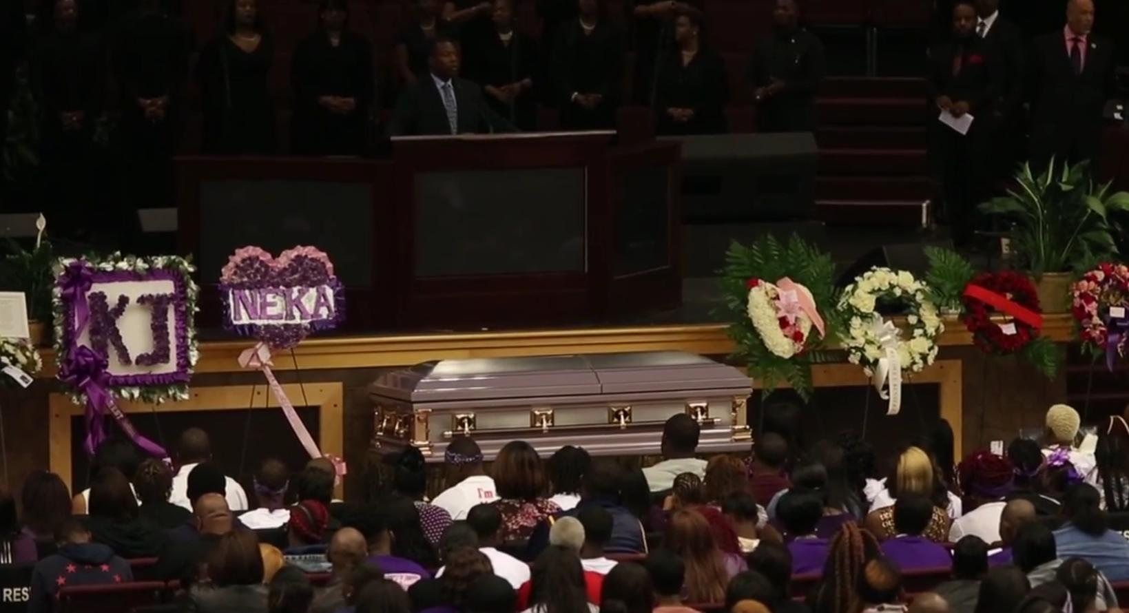 Kenneka Jenkins' funeral draws hundreds: 'It's heartbreaking