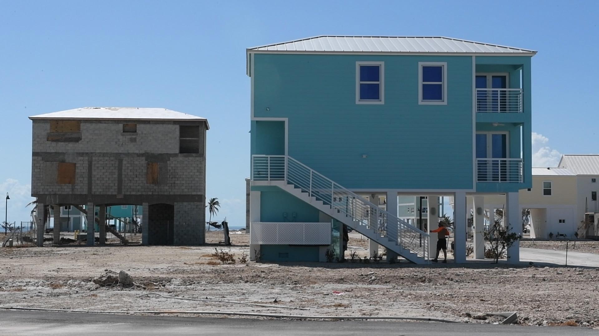 Stilt homes in Florida Keys stand tall in face of Hurricane