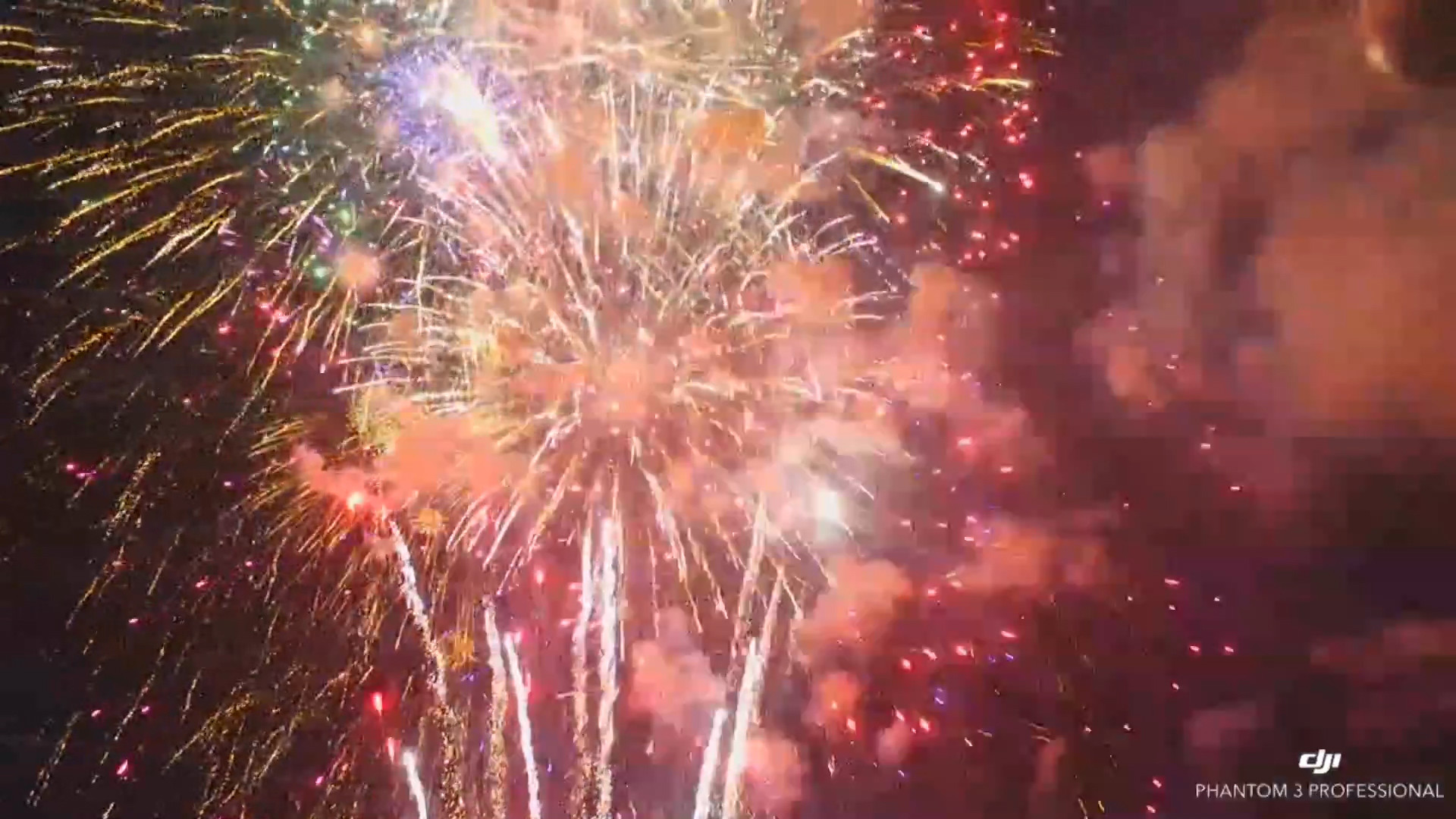 Drones capture new view of 4th of July fireworks - Chicago