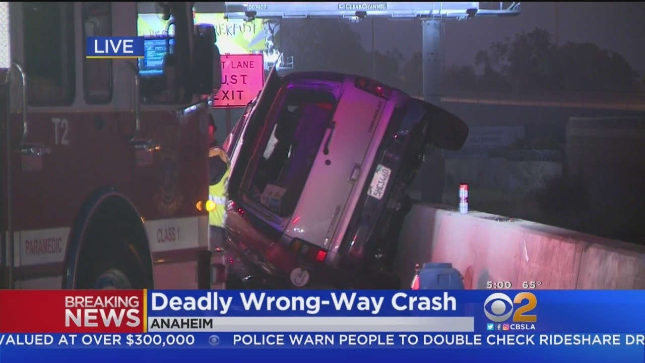 Two die after wrong-way driver speeding up to 100 mph causes