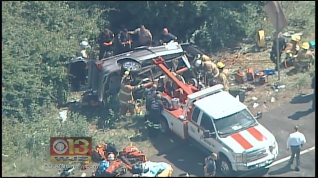 Wrong-way crash kills 2, injures 1 on Route 50 near