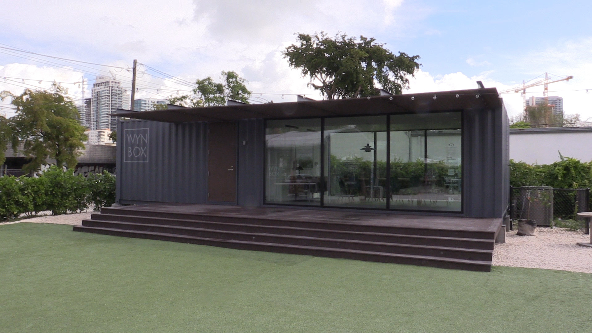 Shipping containers taking on new life as homes and businesses