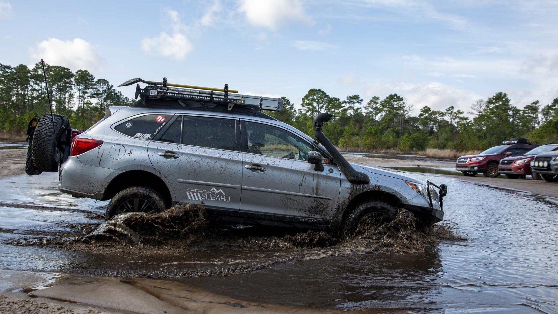 Subaru Outback Off Road >> Off Roading The Trails Of Ocala National Forest Commentary