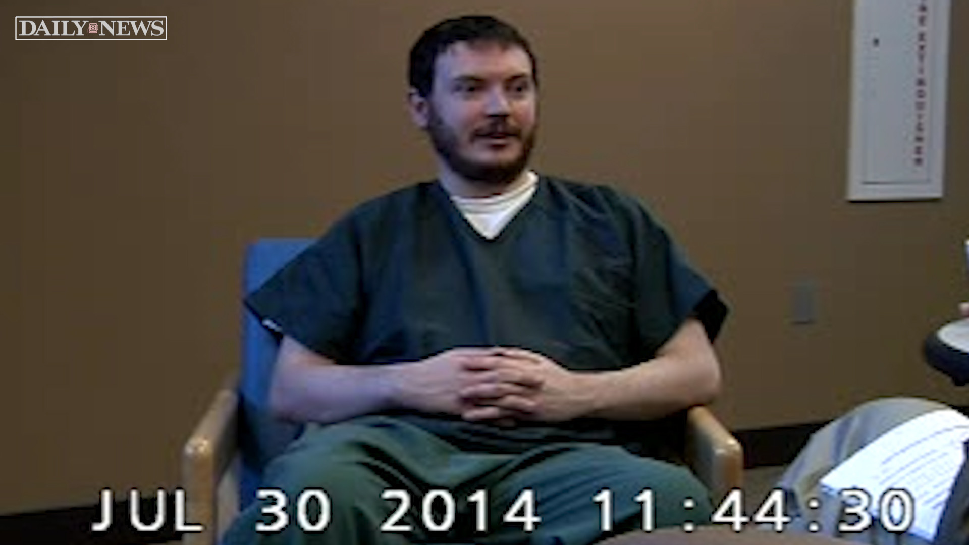 Stunning Tapes Of Colorado Movie Theater Gunman James Holmes Sanity Evaluation Made Public New York Daily News