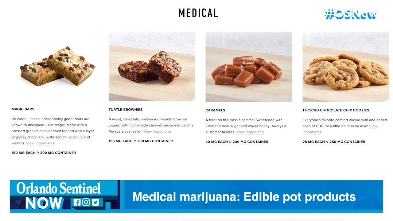 Medical marijuana: Trulieve lines up edible pot products, even as