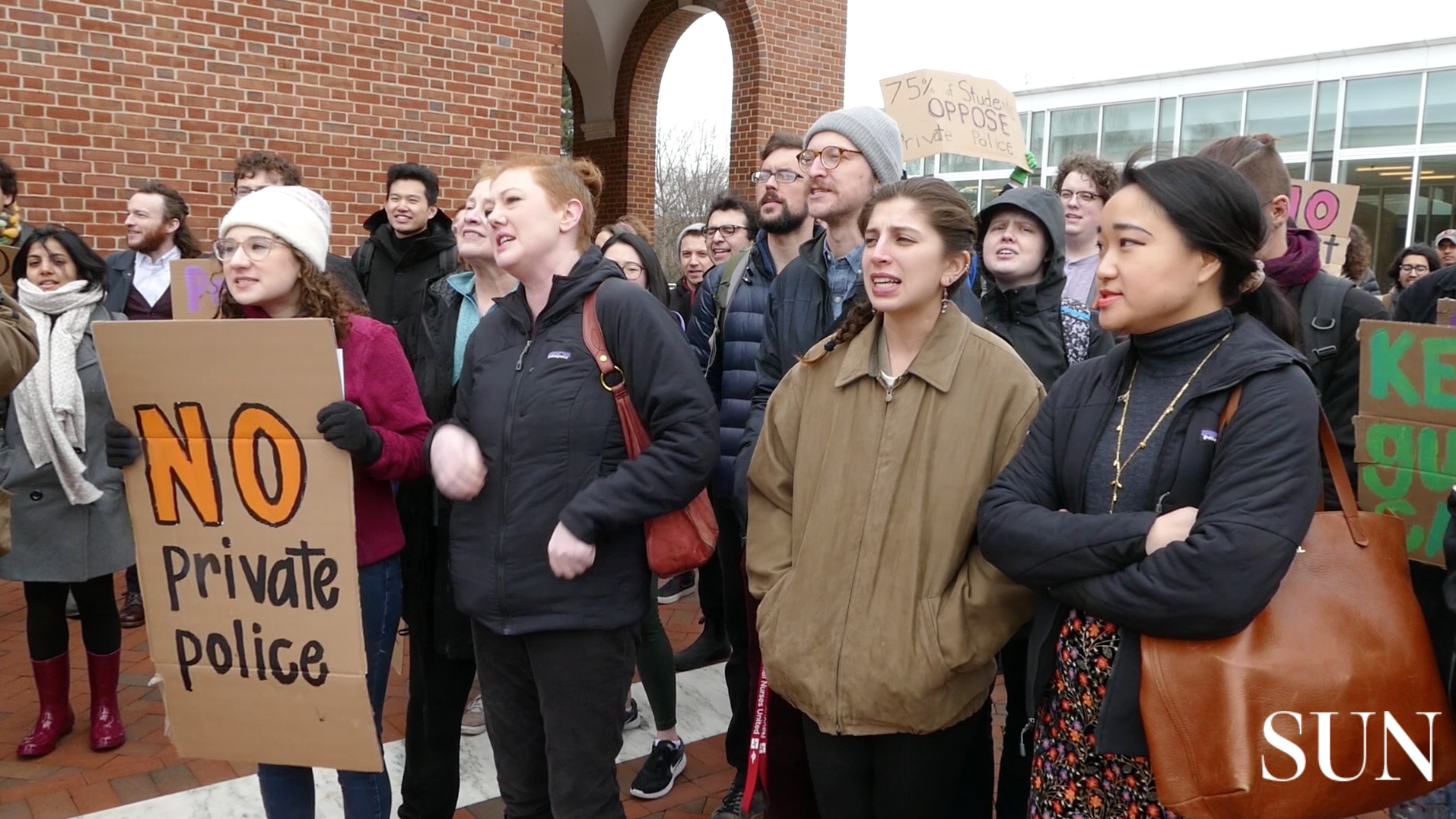 Johns Hopkins' latest plan for police force prompts protest