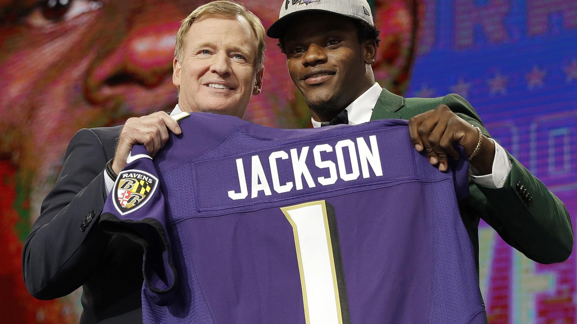 Nfl Draft Ravens Make Qb Lamar Jackson Final Pick Of 1st Round Orlando Sentinel