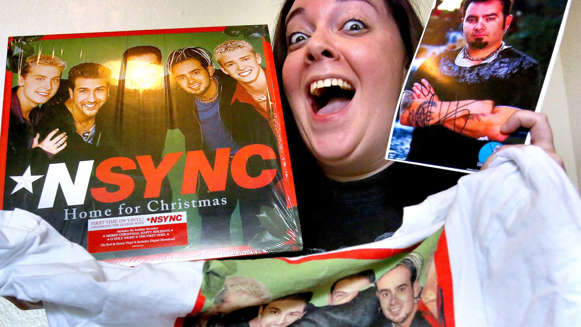 Nsync Merry Christmas.Nsync Fans On Walk Of Fame Star It S About Time Orlando