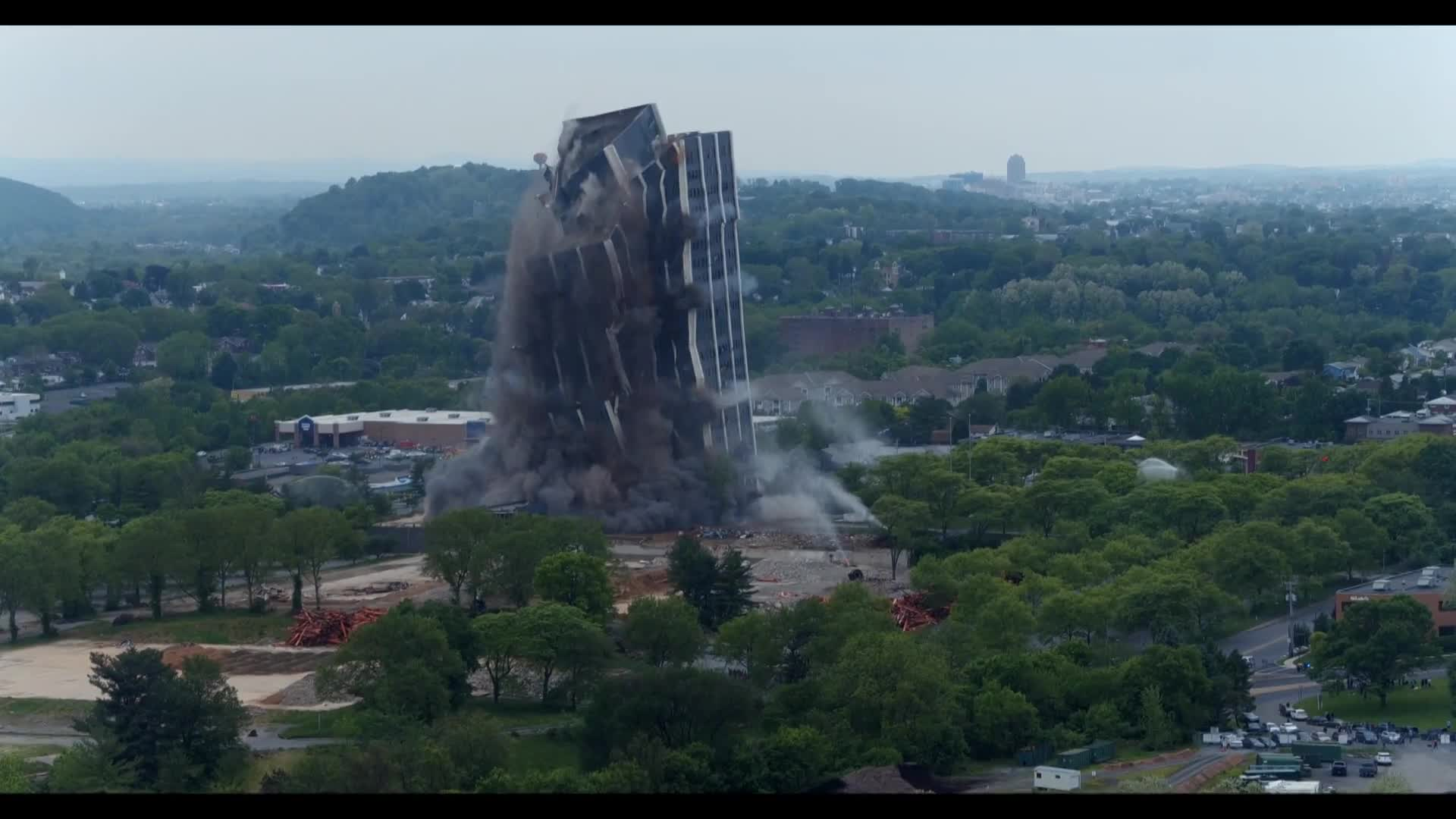 Martin Tower implosion: Watch how it looked from every angle