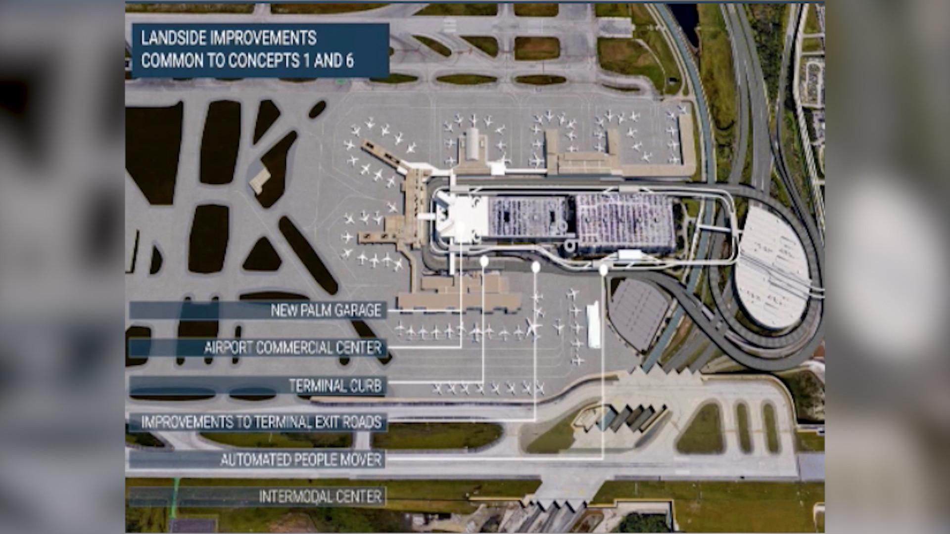 Fort Lauderdale Airport Parking Garage Map