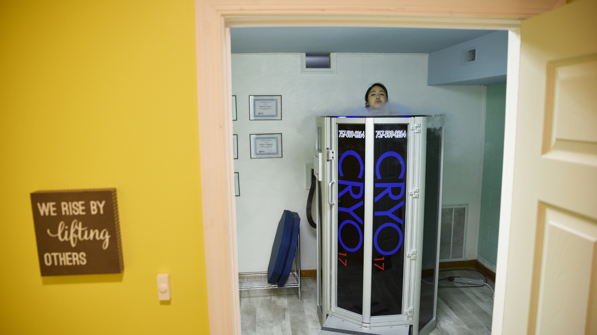 Newport News cryotherapy business 'brrr'inging the cold to