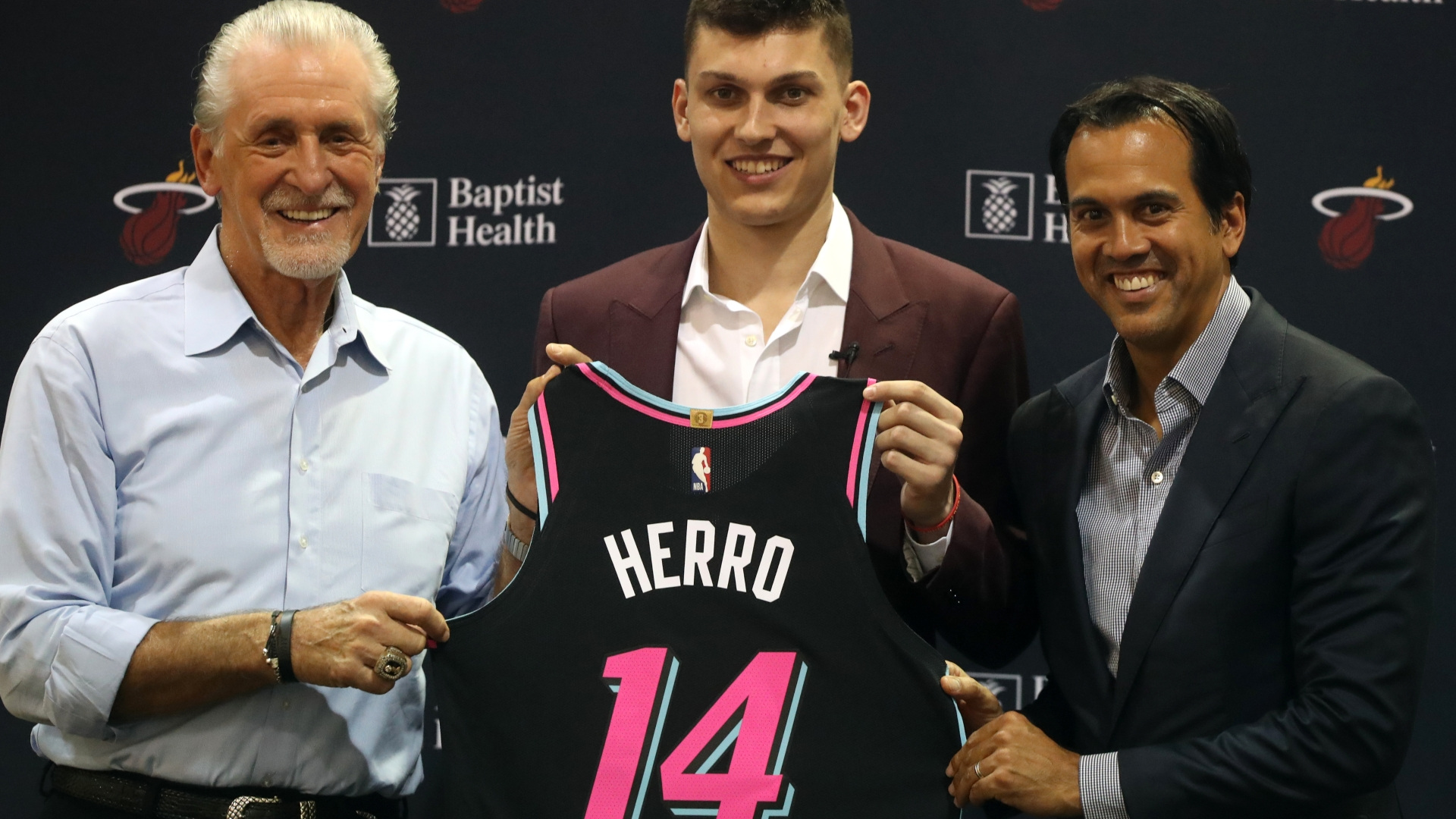 Growing Up A Fan Tyler Herro S Drip Was A Heat Jersey Long Before Draft Night South Florida Sun Sentinel South Florida Sun Sentinel