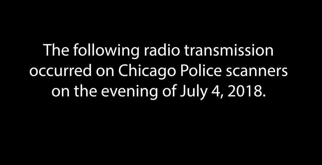 Expert says 'rogue' transmission on Chicago police radio