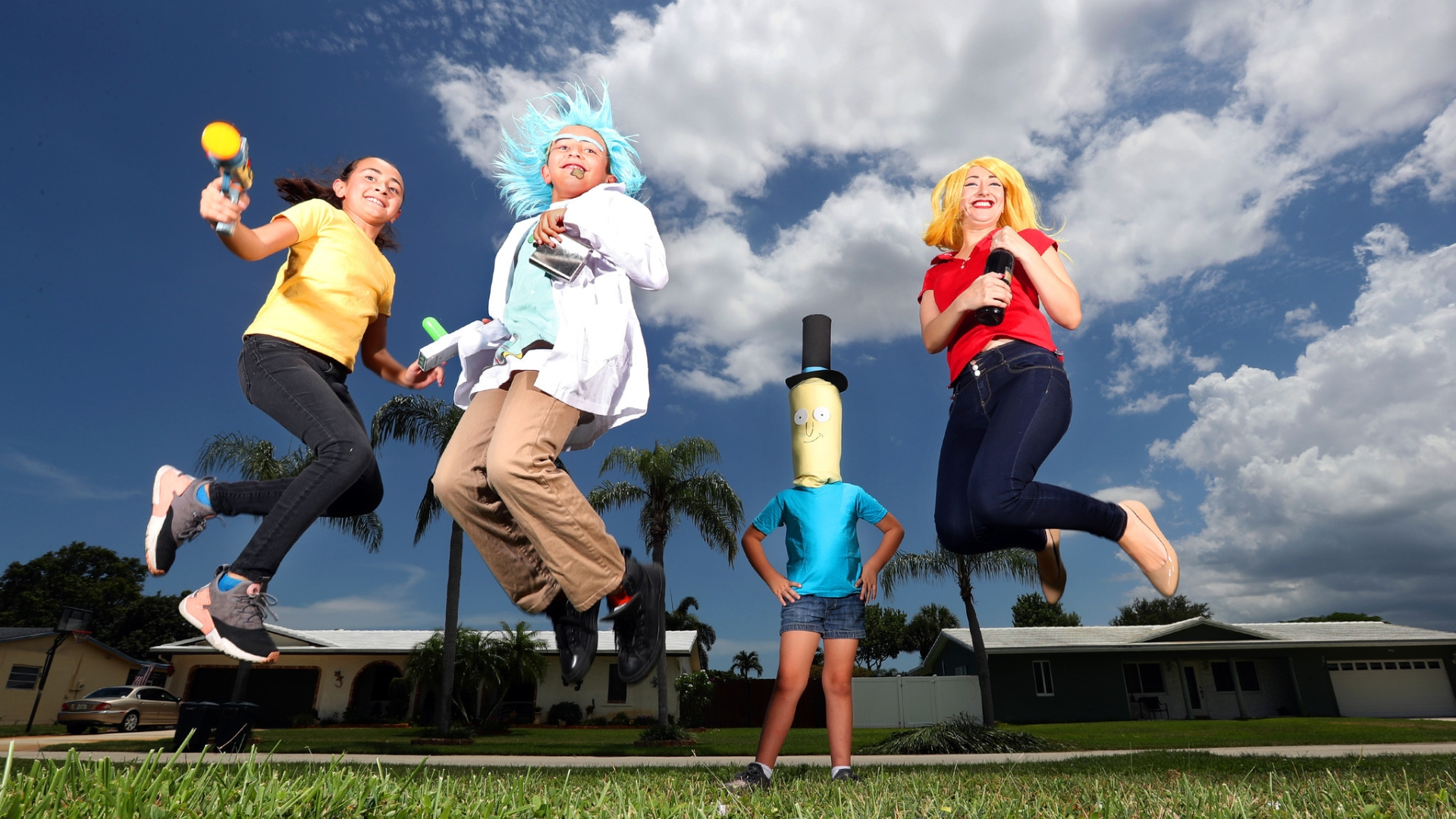 For these Florida Supercon fans, cosplay is a family affair