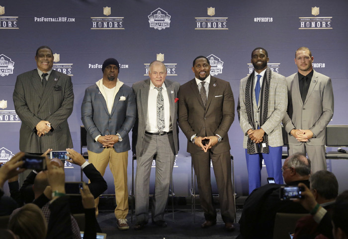 pretty nice 1f948 97c1d Meet the Pro Football Hall of Fame Class of 2018 - Baltimore Sun