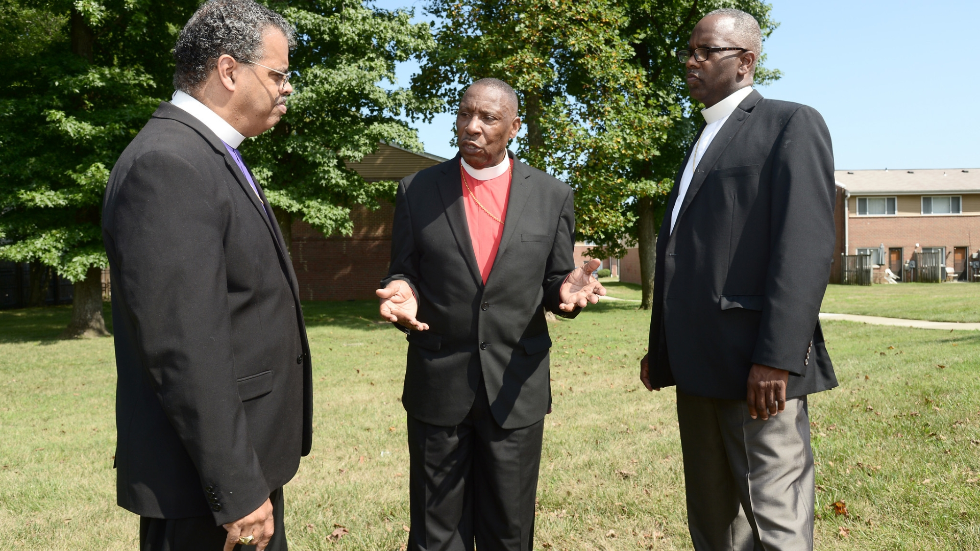 Pastor calls attention to his son's killing on second