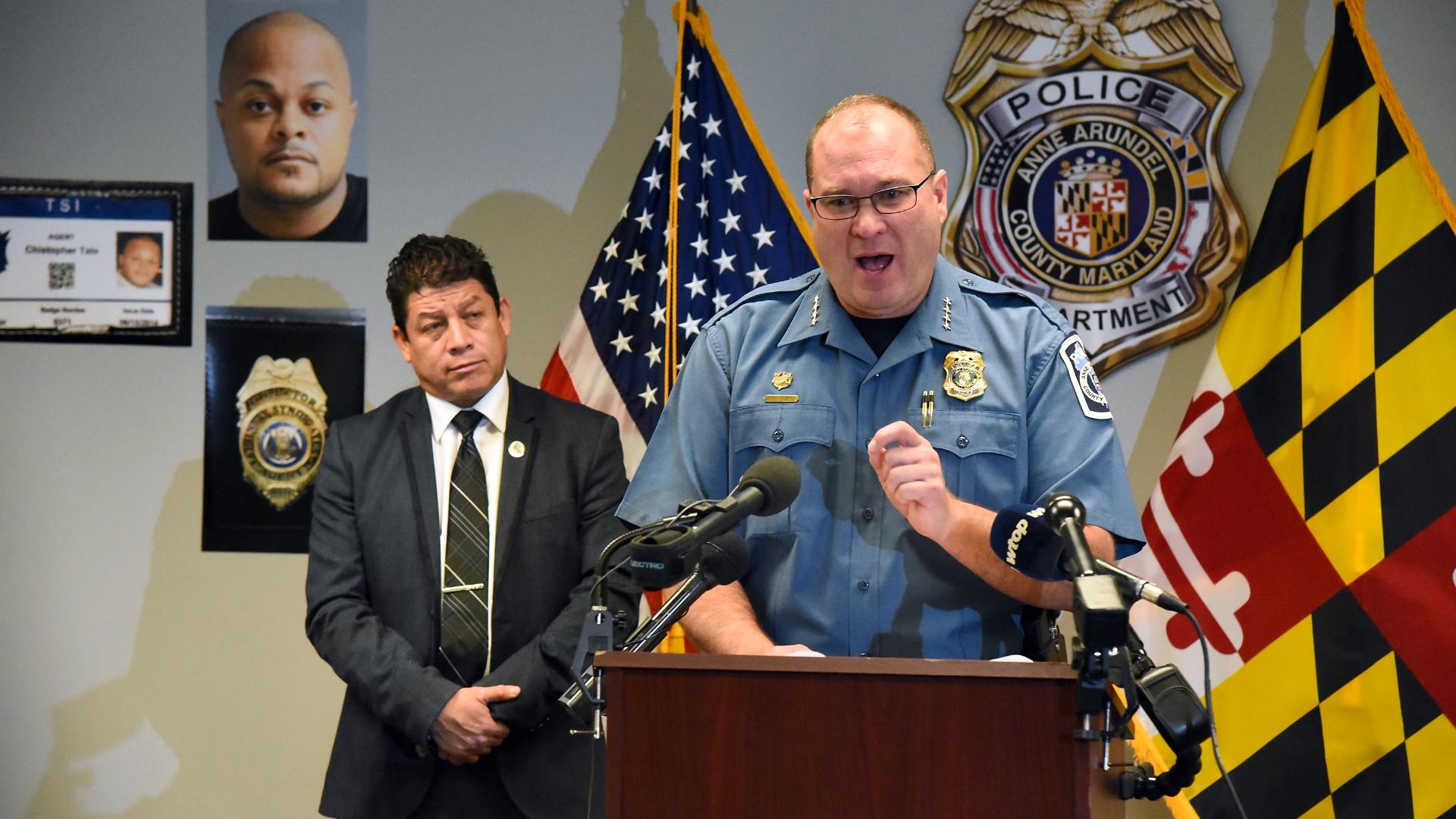 Anne Arundel police: Minnesota fugitive arrested for