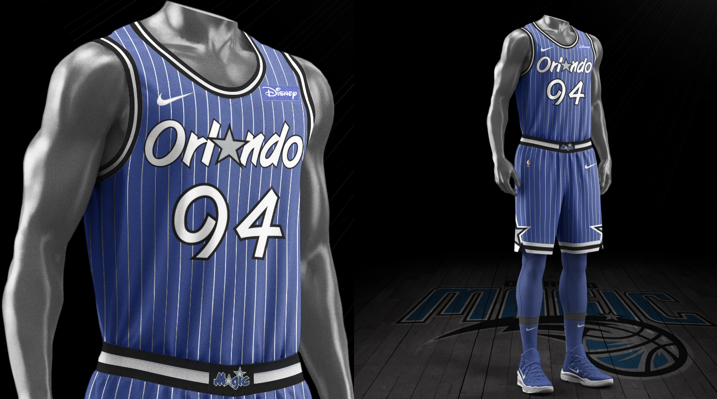 wholesale dealer a1152 c28ef Orlando Magic unveil 30th anniversary throwback jersey and ...