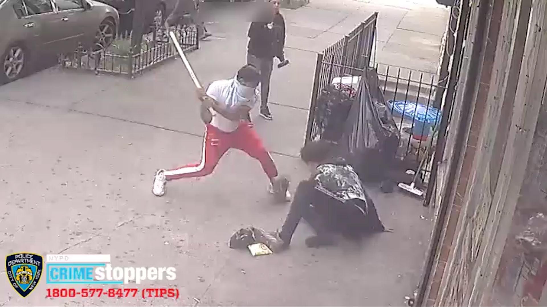 Wooden Stick Slashing Attack On Bronx Teen Caught On Camera New York Daily News