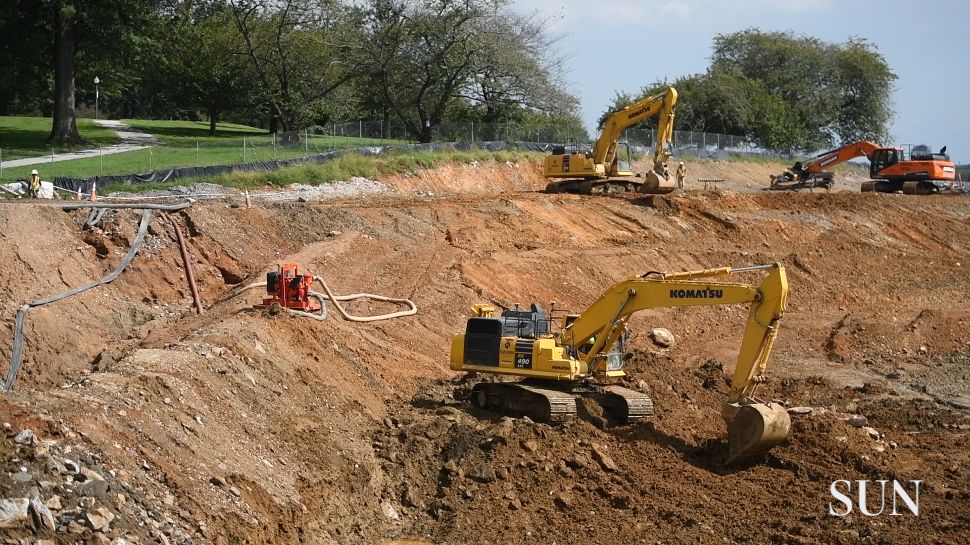 Remaking Baltimore's Druid Lake: $140 million water project has some