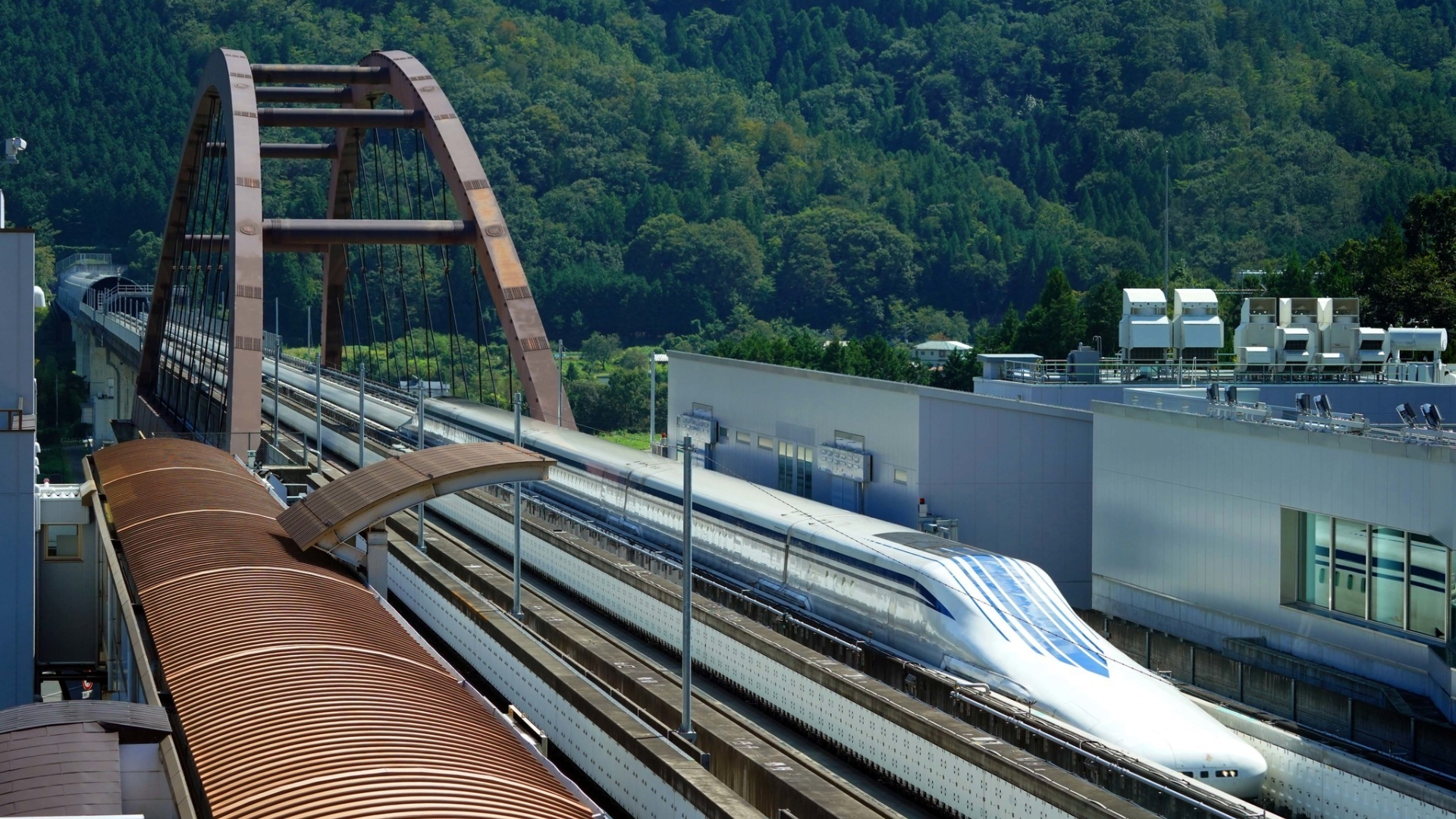 The Baltimore Sun went to Japan to ride the maglev — and
