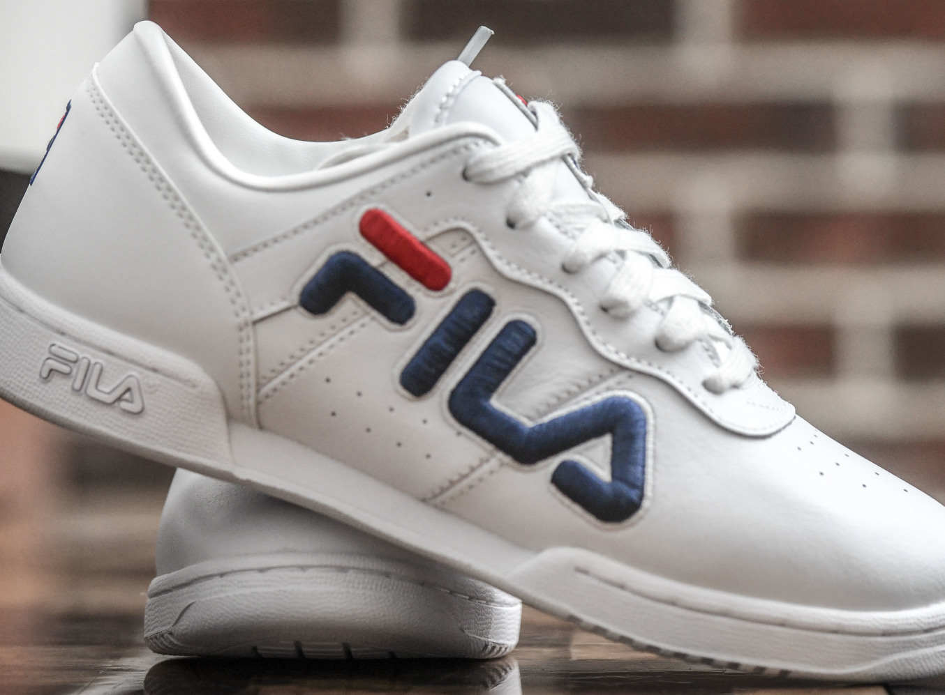 Fila, Baltimore's other sneaker company, is banking on a