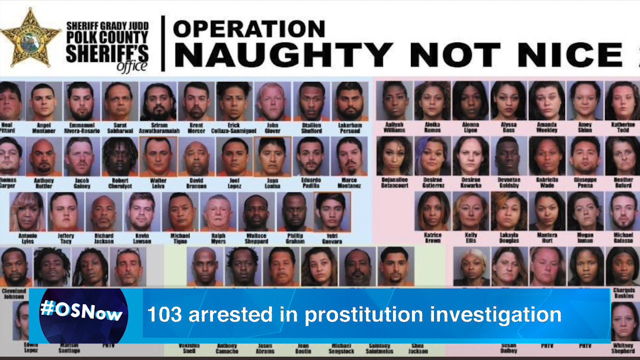More than 100 arrested in sex trafficking, prostitution