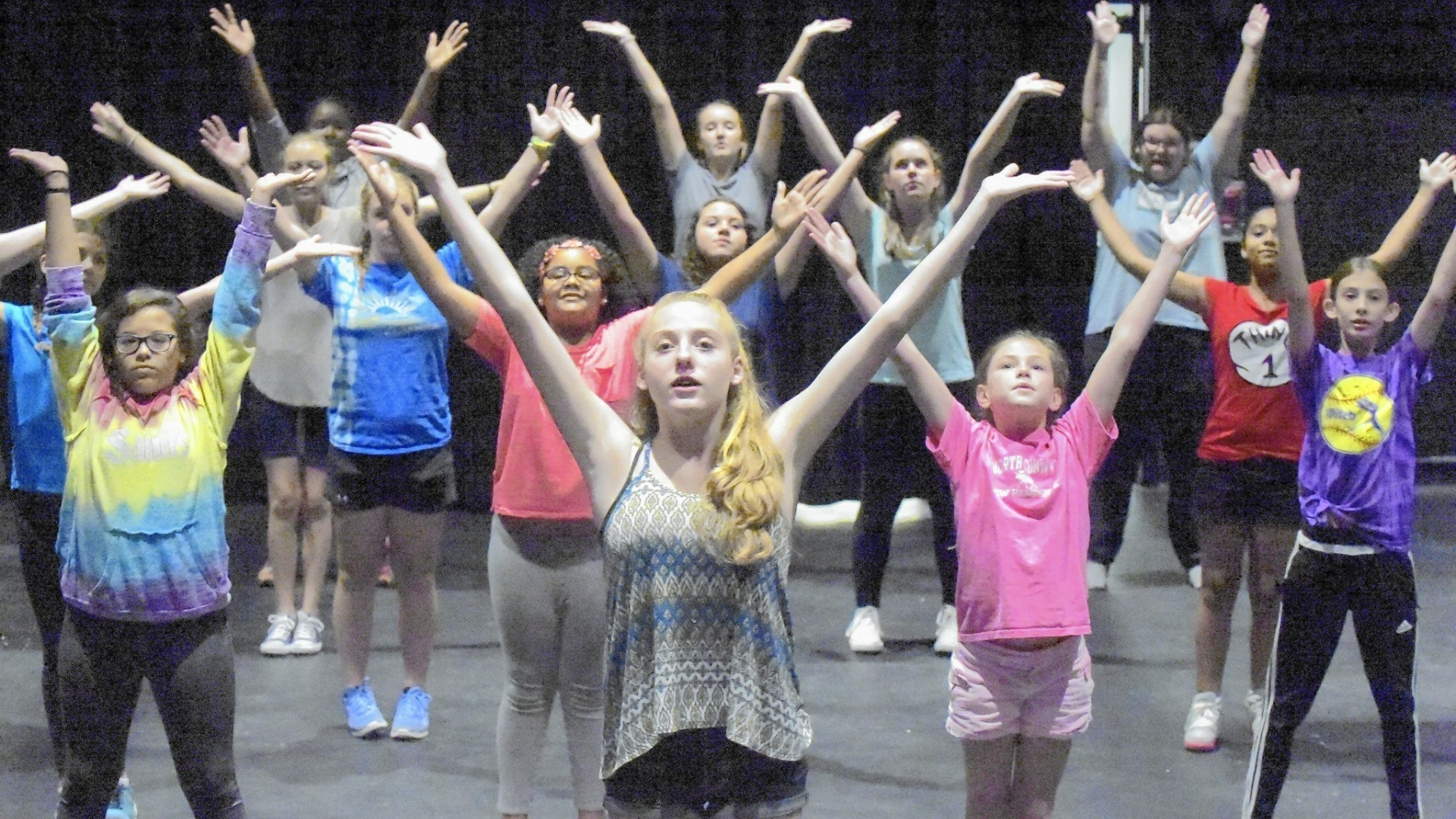 On Their Way Summer Campers Broadway Bound Hartford Courant